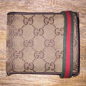 Gucci Wallet • Classic Monogram & Colors • RARE!